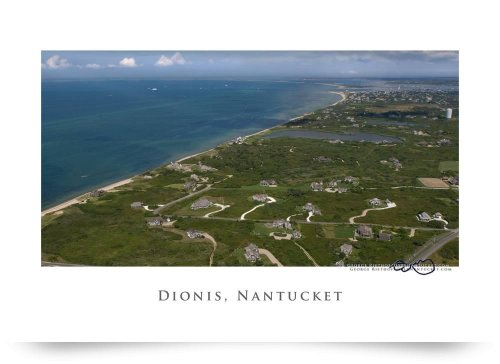 Dionis Beach, Capaum Pond, Nantucket (Giclee Art Print), George Riethof back-953342
