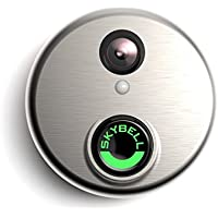 SkyBell HD WiFi Video Doorbell (Silver)