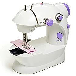 Shopos Mini Electric Sewing Machine With Battery / Electricity Power mode