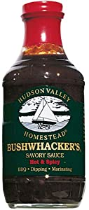 Hudson Valley Homestead: Bushwhackers Savory Sauce - Hot & Spicy - 540g