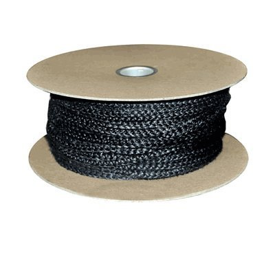 "3/8"" X 147' Perkins 154 Firberglass Wood Stove Replacement Rope Gasket Spool"