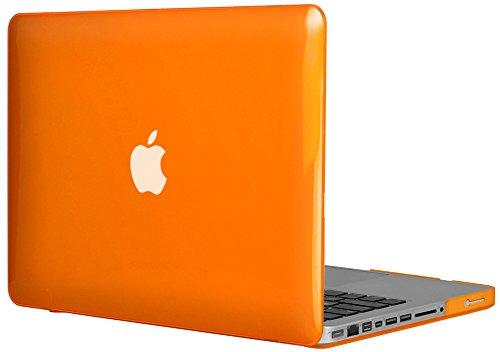 'Topideal-Cover rigida per MacBook Pro 13.3, Non-Retina] (modello: A1278) Orange
