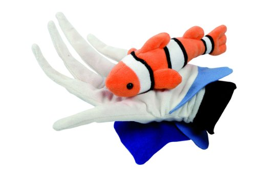 Hape - Beleduc - Anemone And Fish Glove Puppet