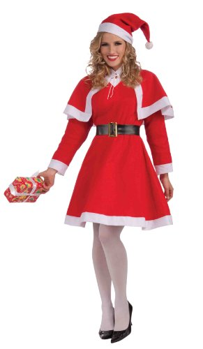 Forum Novelties Women's Miss Santa Costume