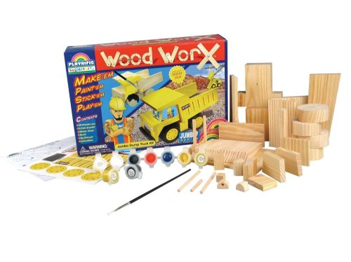 Wood WorX Jumbo Assortment Pack - Buy Wood WorX Jumbo Assortment Pack - Purchase Wood WorX Jumbo Assortment Pack (GuideCraft, Toys & Games,Categories,Arts & Crafts,Craft Kits,Wood)