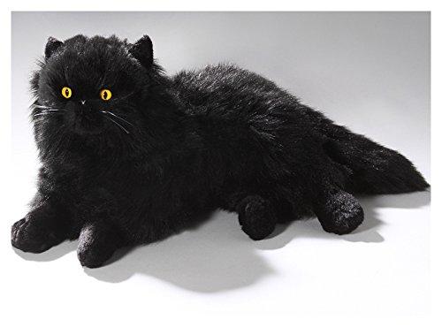 Katze, Perserkatze schwarz aus Plüsch ca. 35cm