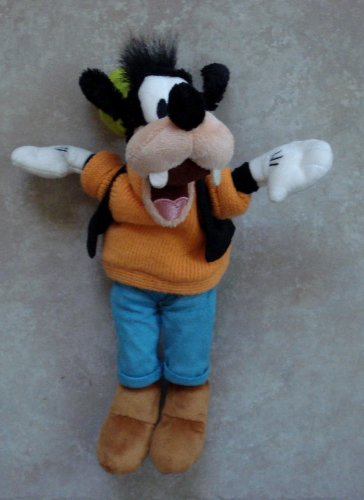 Goofy Plush 12 Inches Tall With Suede Pants and Shoes - 1
