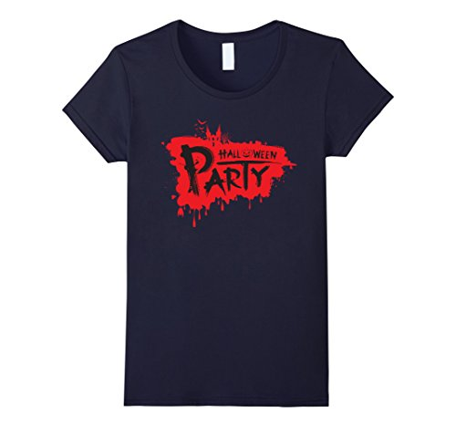 Women's Party City Halloween Costumes Sale - T-Shirt For Halloween XL Navy (Party City 2016 Halloween Costumes)