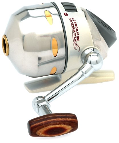 Pflueger Spincast Reel, 70-Yards/4-Pound