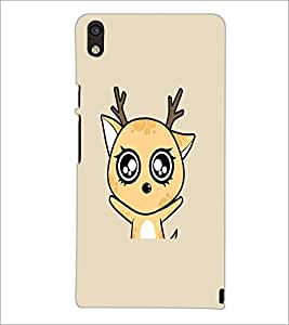 PrintDhaba Cartoon D-2107 Back Case Cover for HUAWEI ASCEND P6 (Multi-Coloured)