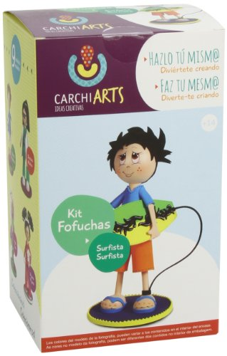 Fofuchas - Surfista, kit creativo (Carchidea 70010500)