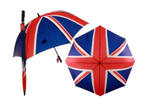 Great British Golf Umbrella Union Flag