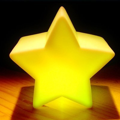 Caetle(Tm) Color Changing Led Star Baby Kid Mood Lamp Night Light Children-Seven Color Changing