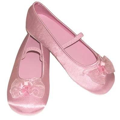 Pink Glitter Party Shoes - Kids Accessory 5 - 6 years