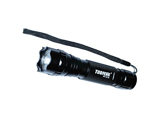 Tuofeng 1-Watt 365Nm Ultra Violet Uv Led Flashlight For Forensic Work