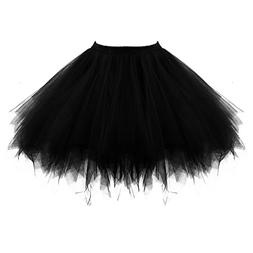 PerfectDay Women's Tutu Petticoat Skirt Prom Evening Occasion Accessory
