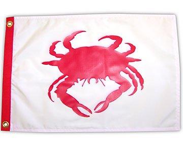 Crab 12x18 Outdoor Garden Flag