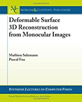 Deformable Surface 3D Reconstruction from Monocular Images ebook download