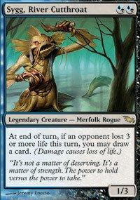 Magic: the Gathering - Sygg, River Cutthroat - Shadowmoor - Foil