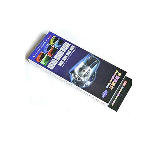 Voiture Intérieur Lumière ezykoo Multicolore LED éclairage sous tableau de bord Kits 16couleurs vibrantes avec contrôle Retirer et son activation Pour Voitures et camions