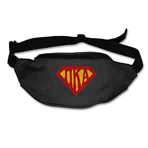 101Dog Outdoor Bumbag Pi Kappa Alpha 2 Mini Dumpling Waist Bag Packs Waist Bag Pouch For Women Man Outdoors Workout - Great For Running Hiking Travel Sport (50s Haircuts)