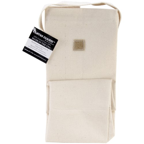 Mark Richards Lunch Bag, 11 by 10 by 5-Inch, Natural - 1