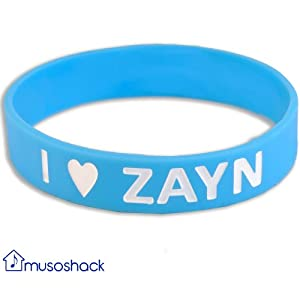I Love Zayn Malik One Direction Band One Inch Wristband