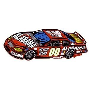 Alabama Magnet 2D Race Car Heart Of Dixie Case Pack 60