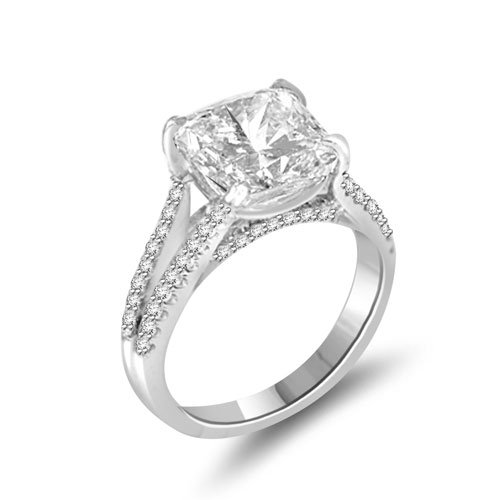 4.94 Ct Shenoa &#8216;Signature&#8217; Engagement Ring Setting