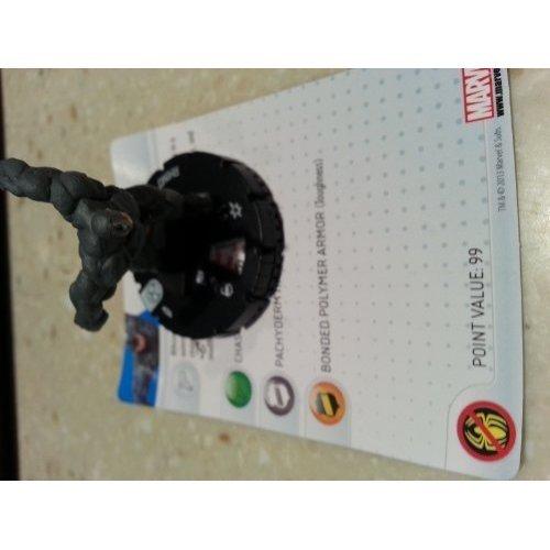 Marvel Heroclix Amazing Spider-Man Rhino gravity feed by neca
