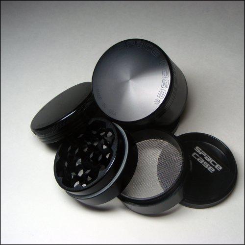 Space Case® 4 Piece Titanium Herb Grinder Small + Cali Crusher® Pollen Press (SCT-4 (S)+CCP) Reviews