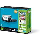 Wii U すぐに遊べるファミリープレミアムセット+Wii Fit U(クロ)(バランスWiiボード非同梱) 【メーカー生産終了】