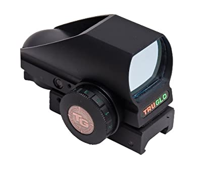 TRUGLO Tru-Brite Red Dot Dual-Color Multi Reticle Black from TruGlo