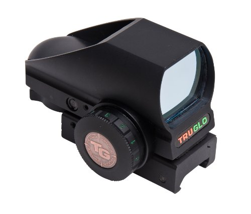 Truglo Red-Dot Tru-Brite Open-Dot Multi Blk Box, Black