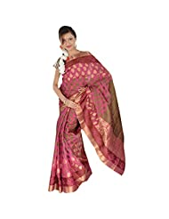 Kashish Pink Silk Saree For Women