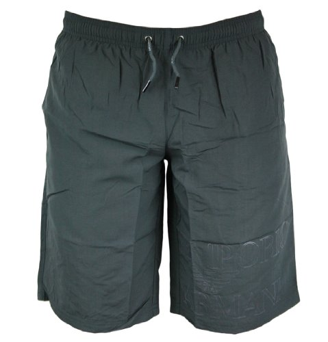 Emporio Armani 211117 2P422 Mens Swim Shorts SS12 Smoke EU46