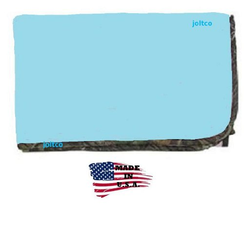 Blue Camo Baby Bedding 8980 front