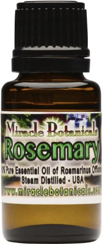 Rosemary Verbenone Essential Oil - 100% Pure Rosmarinus Officinalis - 15ml (1/2 oz)