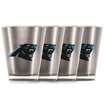 NFL Carolina Panthers Shot Glass Set (4-Piece)