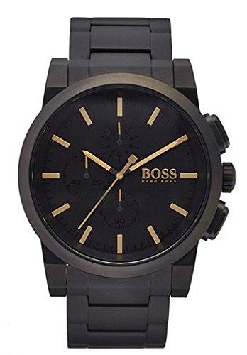 HUGO BOSS 1513276 para hombre 'Blackout Neo' reloj de pulsera cronógrafo, negro mate