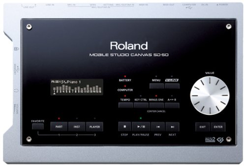 Buy Roland Mobile Studio Canvas Sound Module and Audio Interface