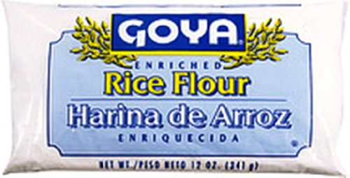 Goya Foods Rice Flour, 12-Ounce (Pack of 24)