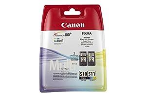 Canon PG510/ CL511 Ink Cartridge Multi Pack - Black/ Colour