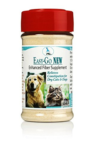 Easy Go 50g - Relieves Constipation & Keeps Pets Regular - for Cats & Dogs