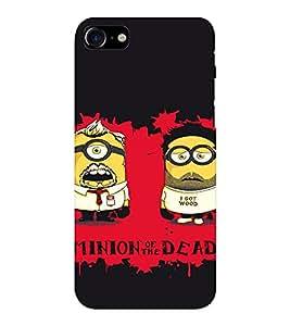 EPICCASE Minion of Dead Mobile Back Case Cover For Apple iPhone 7 (Designer Case)