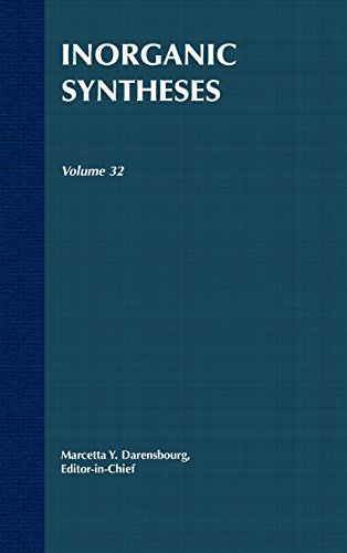 Inorganic Syntheses V32: Vol 32