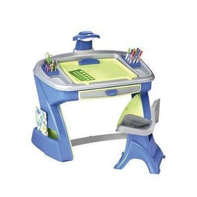 American Plastic Toy Creativity Desk and Easel - 1