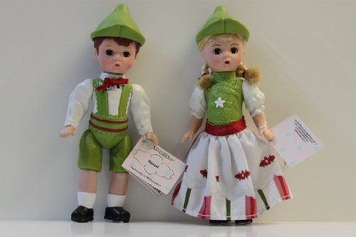 Madame Alexander HANSEL AND GRETEL Set of 2 Collectible Dolls (McDonalds NEW, WITH TAGS/SEALED!!!)