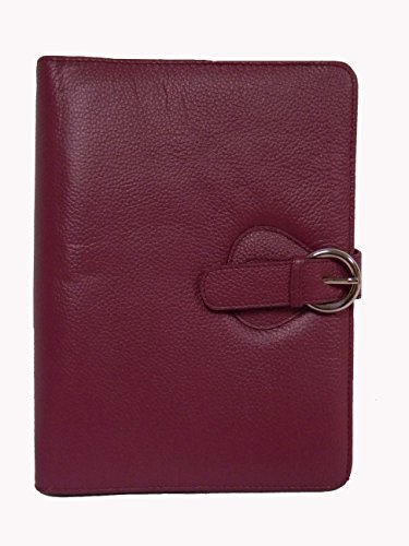 Franklin Covey Leather Ava Binder, Classic 7.5x9.5x1.2-Inches, Plum (Franklin Covey Ring Insert compare prices)