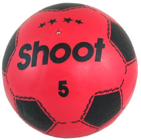 Shoot Size 5 Plastic Football - Colour Varies